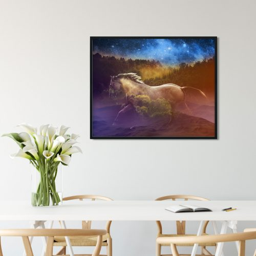 magical equestrian wall art decor